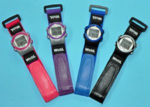 画像1: アラーム腕時計「ウォブル」
